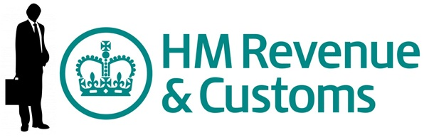 Taxman and HMRC logo
